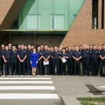 The Minister of Justice congratulated the Policemen of the National Bureau of Enforcement on the Professional Day