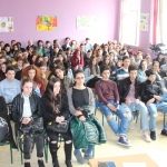 The conversation about financial obligations with the pupils of 11th public school