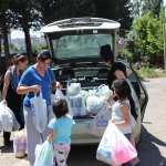 Employees of the National Bureau of Enforcement helped the Large Family