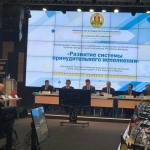 The innovations of the Georgian enforcement system were presented at the international conference