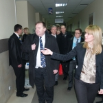 Swedish Experts, Visiting the National Bureau of Enforcement, at Public Registry