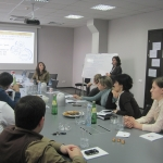 Officials of NBE of Georgia, EU Project Experts Holding Workshop on Strategic PR Planning