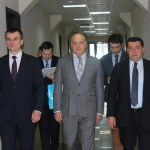 The Minister of Justice of Belarus visited the National Bureau of Enforcement