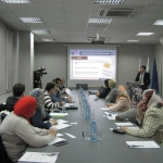 EIPF Delegation Paying Visit to NBE of Georgia