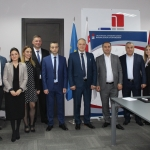 The delegation of Armenia get introduced to the system of Georgian execution and innovative services of bureau