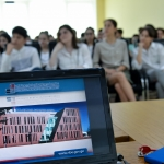 The training on financial liabilities was held for students