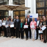 Employees of the National Bureau of Enforcement were awarded with International Certificates of Trainers